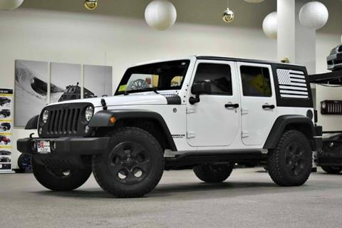 2016 Jeep Wrangler Unlimited for sale in Canton, MA