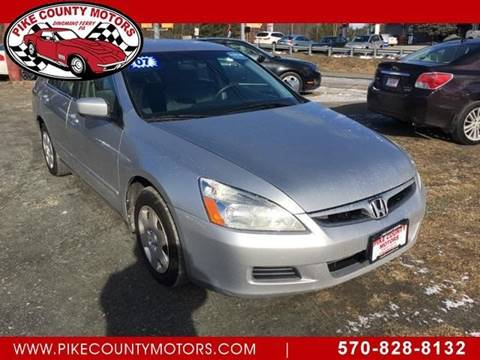 2007 Honda Accord for sale in Dingmans Ferry, PA