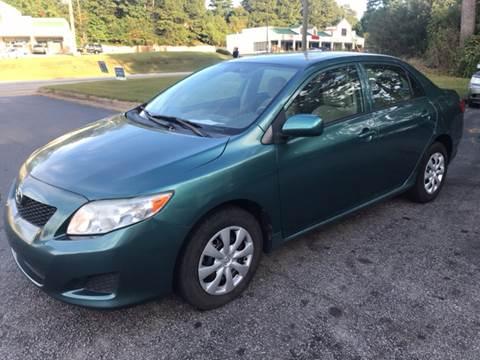 2010 Toyota Corolla for sale at BRAVA AUTO BROKERS LLC in Clarkston GA