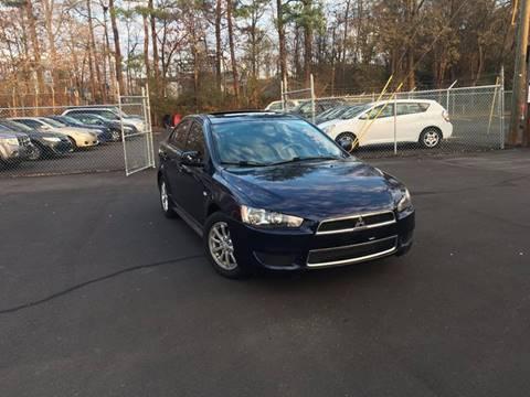 2013 Mitsubishi Lancer for sale at BRAVA AUTO BROKERS LLC in Clarkston GA