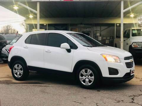 2016 Chevrolet Trax LS for sale at Union Auto Group in Garland TX