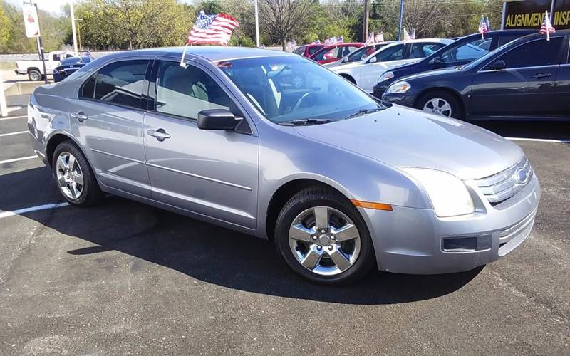 2006 Ford Fusion I4 S In Garland Tx Union Auto Group