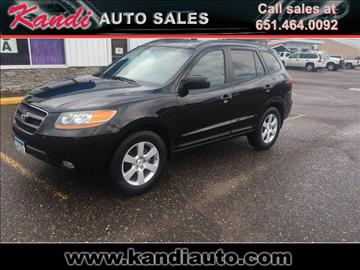 2008 Hyundai Santa Fe for sale in Forest Lake, MN