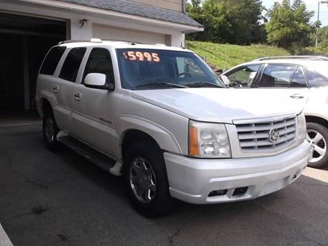 2003 Cadillac Escalade for sale in Washington, NJ