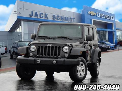 2017 Jeep Wrangler Unlimited for sale in Wood River, IL