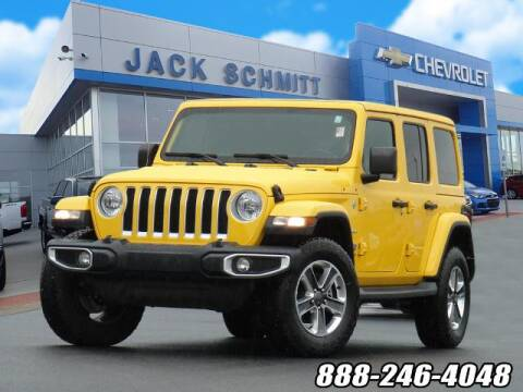 2019 Jeep Wrangler Unlimited for sale at Jack Schmitt Chevrolet Wood River in Wood River IL