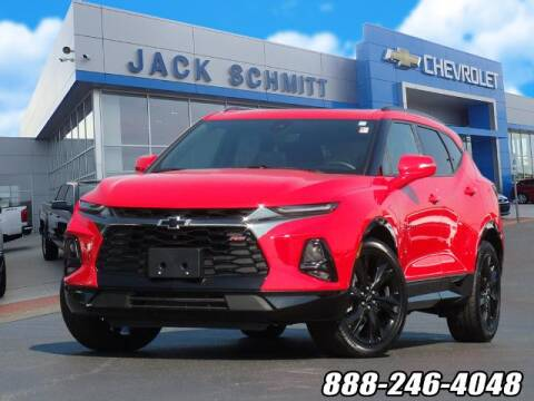2019 Chevrolet Blazer for sale at Jack Schmitt Chevrolet Wood River in Wood River IL
