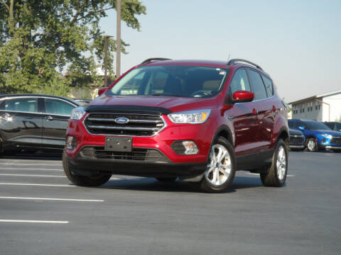 2018 Ford Escape for sale at Jack Schmitt Chevrolet Wood River in Wood River IL