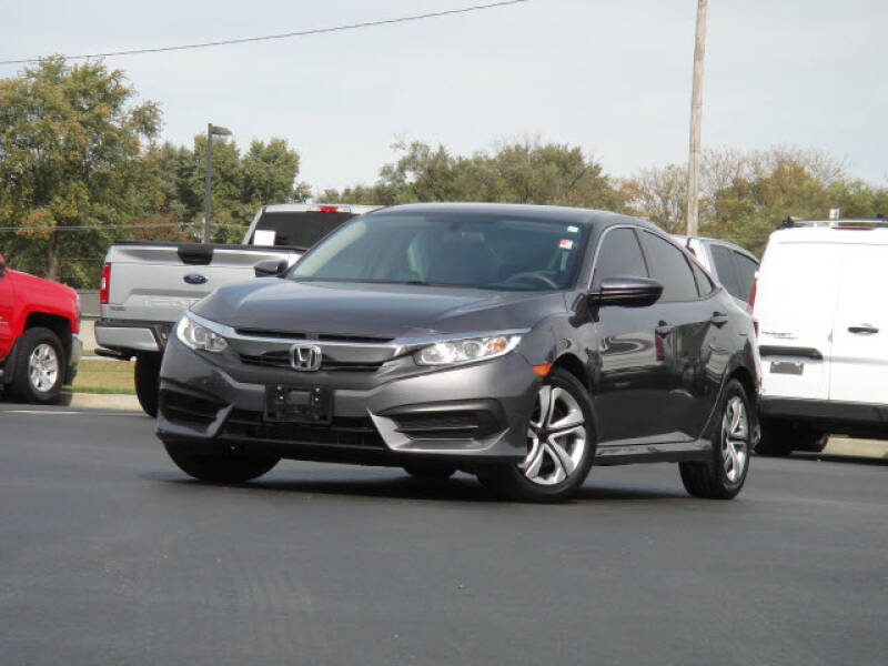 2018 Honda Civic for sale at Jack Schmitt Chevrolet Wood River in Wood River IL