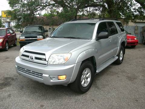 2003 Toyota 4Runner for sale at Discount Motor Mall in Tampa FL