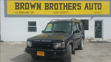 2003 Land Rover Discovery for sale in Burley, ID