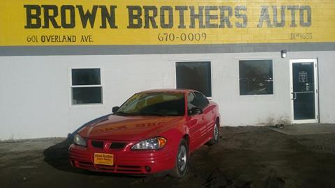 2001 Pontiac Grand Am for sale in Burley, ID