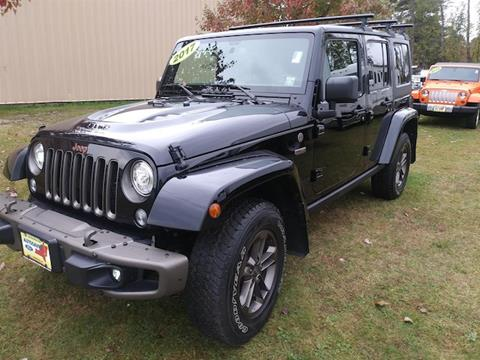 2017 Jeep Wrangler Unlimited for sale in Comstock, NY