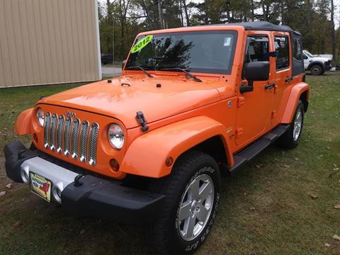 2012 Jeep Wrangler Unlimited for sale in Comstock NY
