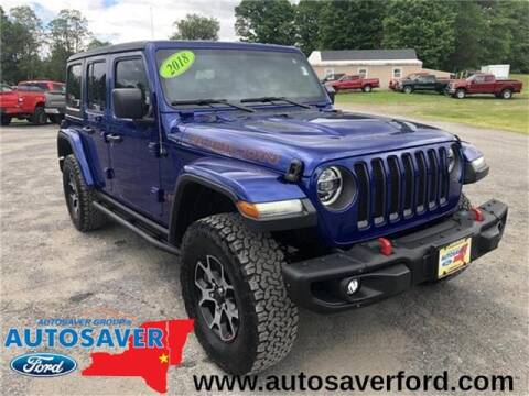2018 Jeep Wrangler Unlimited for sale in Comstock, NY