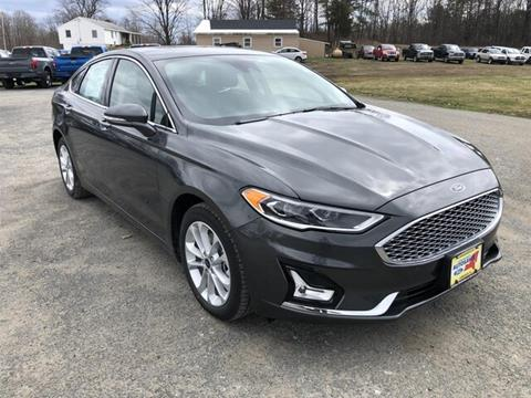 2019 Ford Fusion Energi for sale in Comstock, NY