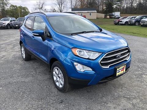 2020 Ford EcoSport for sale in Comstock, NY