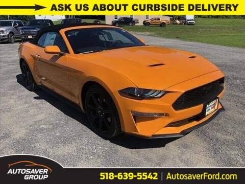 2019 Ford Mustang for sale at Autosaver Ford in Comstock NY