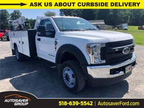 2019 Ford F-550 Super Duty for sale at Autosaver Ford in Comstock NY