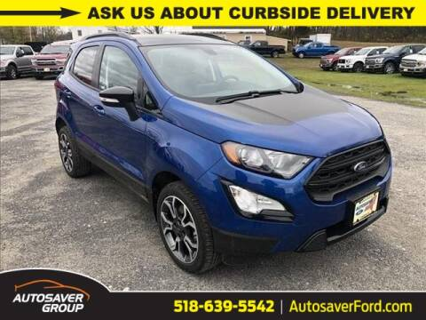 2020 Ford EcoSport for sale at Autosaver Ford in Comstock NY