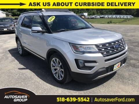 2016 Ford Explorer for sale at Autosaver Ford in Comstock NY