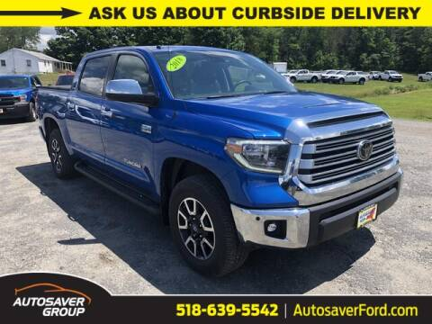 2018 Toyota Tundra for sale at Autosaver Ford in Comstock NY
