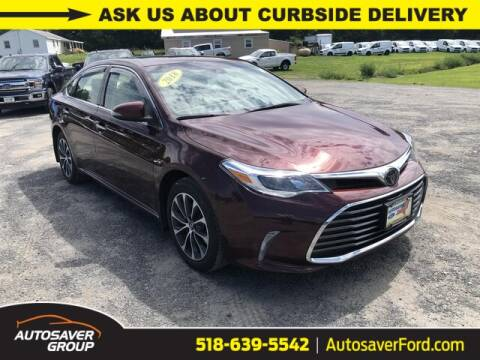 2018 Toyota Avalon for sale at Autosaver Ford in Comstock NY