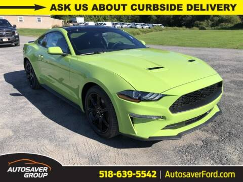 2020 Ford Mustang for sale at Autosaver Ford in Comstock NY