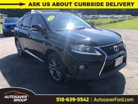 2013 Lexus RX 350 for sale at Autosaver Ford in Comstock NY