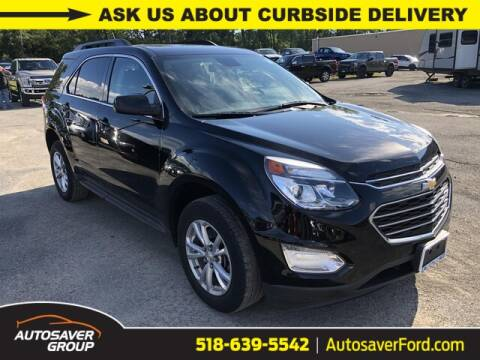 2017 Chevrolet Equinox for sale at Autosaver Ford in Comstock NY