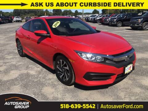 2016 Honda Civic for sale at Autosaver Ford in Comstock NY