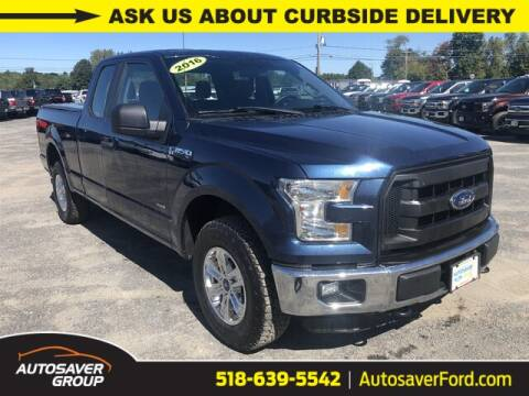 2016 Ford F-150 for sale at Autosaver Ford in Comstock NY