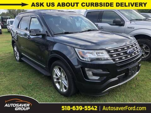 2017 Ford Explorer for sale at Autosaver Ford in Comstock NY
