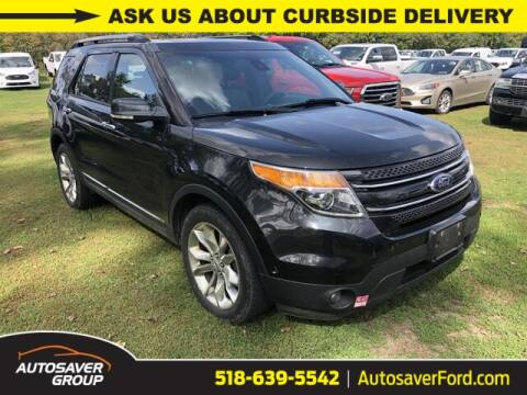 2014 Ford Explorer for sale at Autosaver Ford in Comstock NY