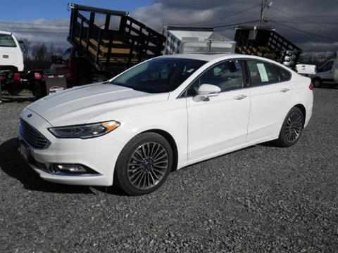 2017 Ford Fusion for sale in Comstock NY