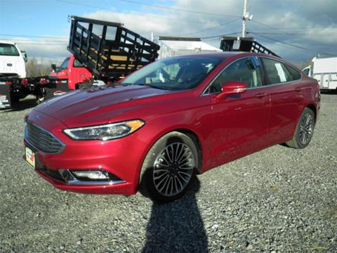 2017 Ford Fusion for sale in Comstock, NY
