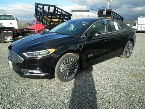2017 Ford Fusion Energi for sale in Comstock NY