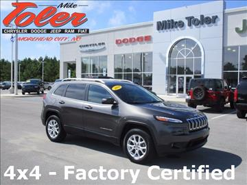 2014 Jeep Cherokee for sale in Morehead City, NC