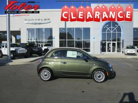 2017 FIAT 500c for sale in Morehead City, NC