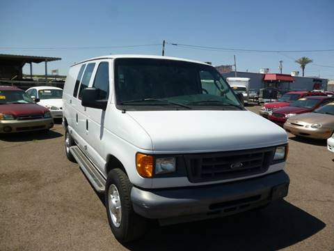 2006 Ford E-Series Cargo for sale at Grand Avenue Motors in Phoenix AZ