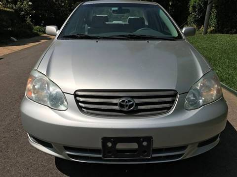 2003 Toyota Corolla for sale at Car Lanes LA in Glendale CA