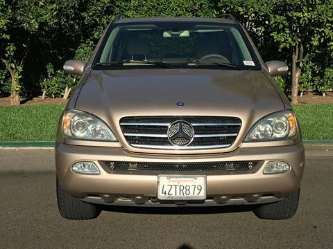 2003 Mercedes-Benz M-Class for sale at Car Lanes LA in Valley Village CA