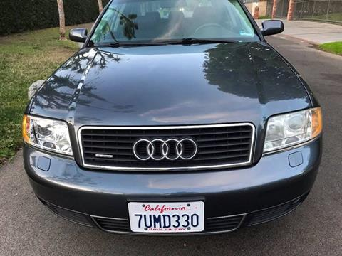 2004 Audi A6 for sale at Car Lanes LA in Valley Village CA