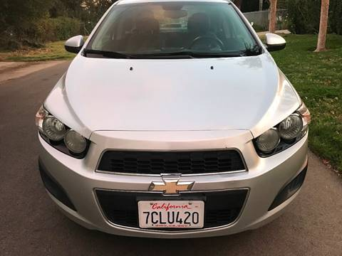 2013 Chevrolet Sonic for sale at Car Lanes LA in Valley Village CA
