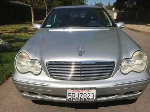 2003 Mercedes-Benz C-Class for sale at Car Lanes LA in Glendale CA