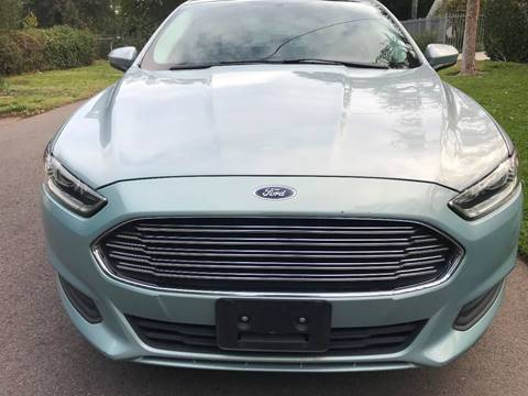 2014 Ford Fusion Hybrid for sale at Car Lanes LA in Glendale CA