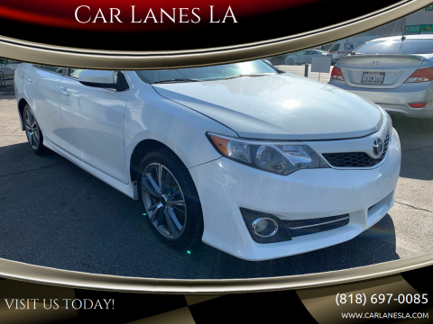 2012 Toyota Camry for sale at Car Lanes LA in Valley Village CA