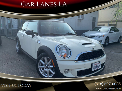 2011 MINI Cooper for sale at Car Lanes LA in Valley Village CA