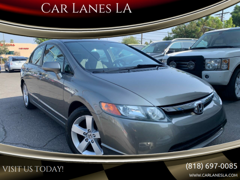 2006 Honda Civic for sale at Car Lanes LA in Valley Village CA
