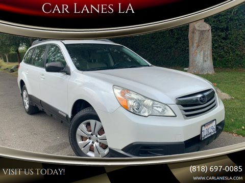 2011 Subaru Outback for sale at Car Lanes LA in Valley Village CA